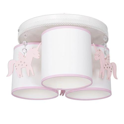Biała Lampa Sufitowa Uni 3x E27
