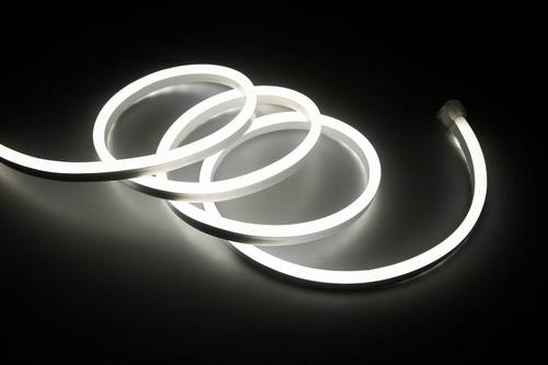 Biały Neon Flex Led Zimny 5 M 230 V IP67