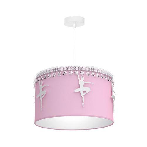 Różowa Lampa Wisząca Baletnica Pink 1 Xe27