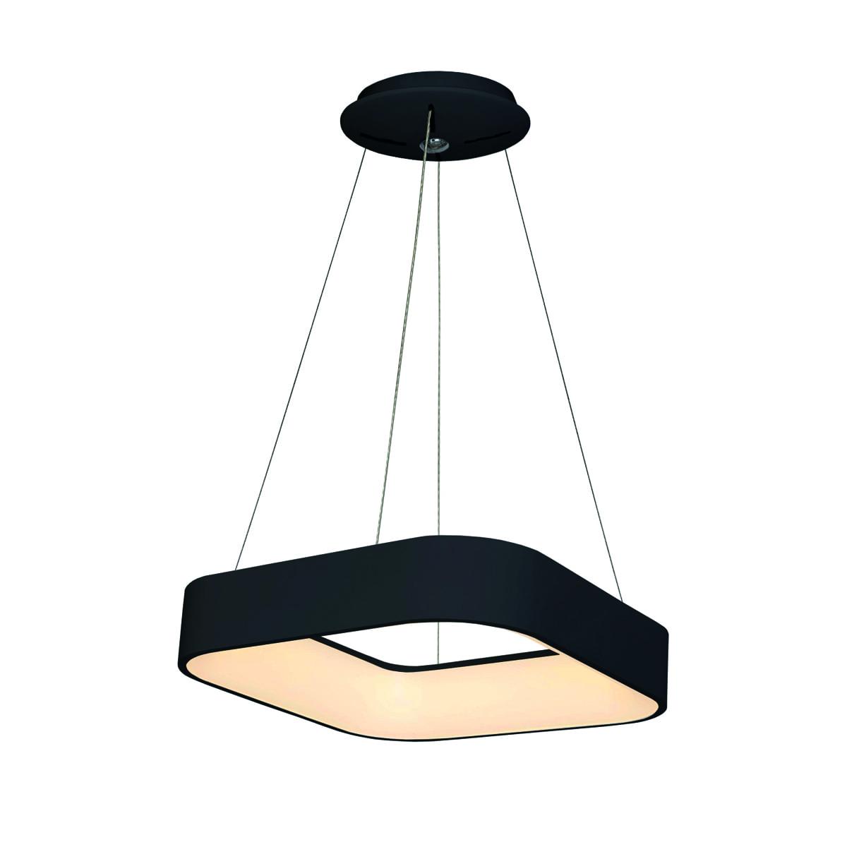 Lampa wisząca Milagro ASTRO 570 Matowy czarny 24W