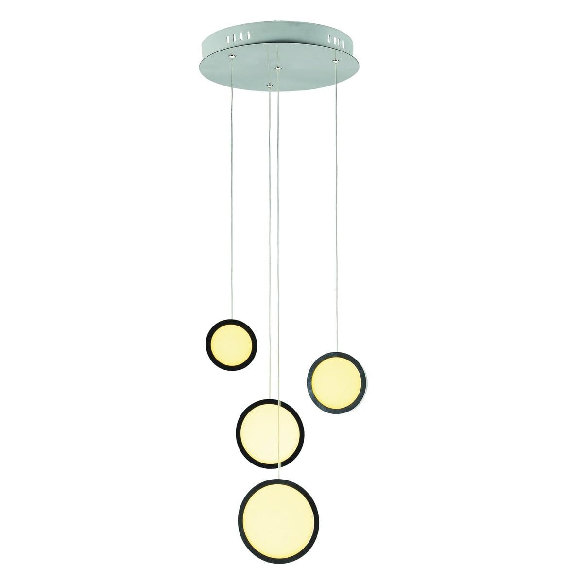 Lampa wisząca Milagro CIRCOLO 265 Chrom 29W
