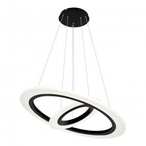 Lampa wisząca Milagro COSMO 348 Piaskowy czarny 36W