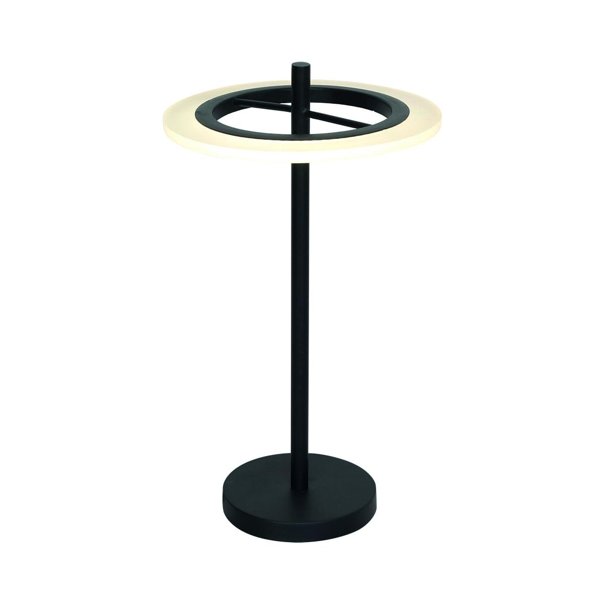 Lampa biurkowa Milagro COSMO 168 Piaskowy czarny 12W