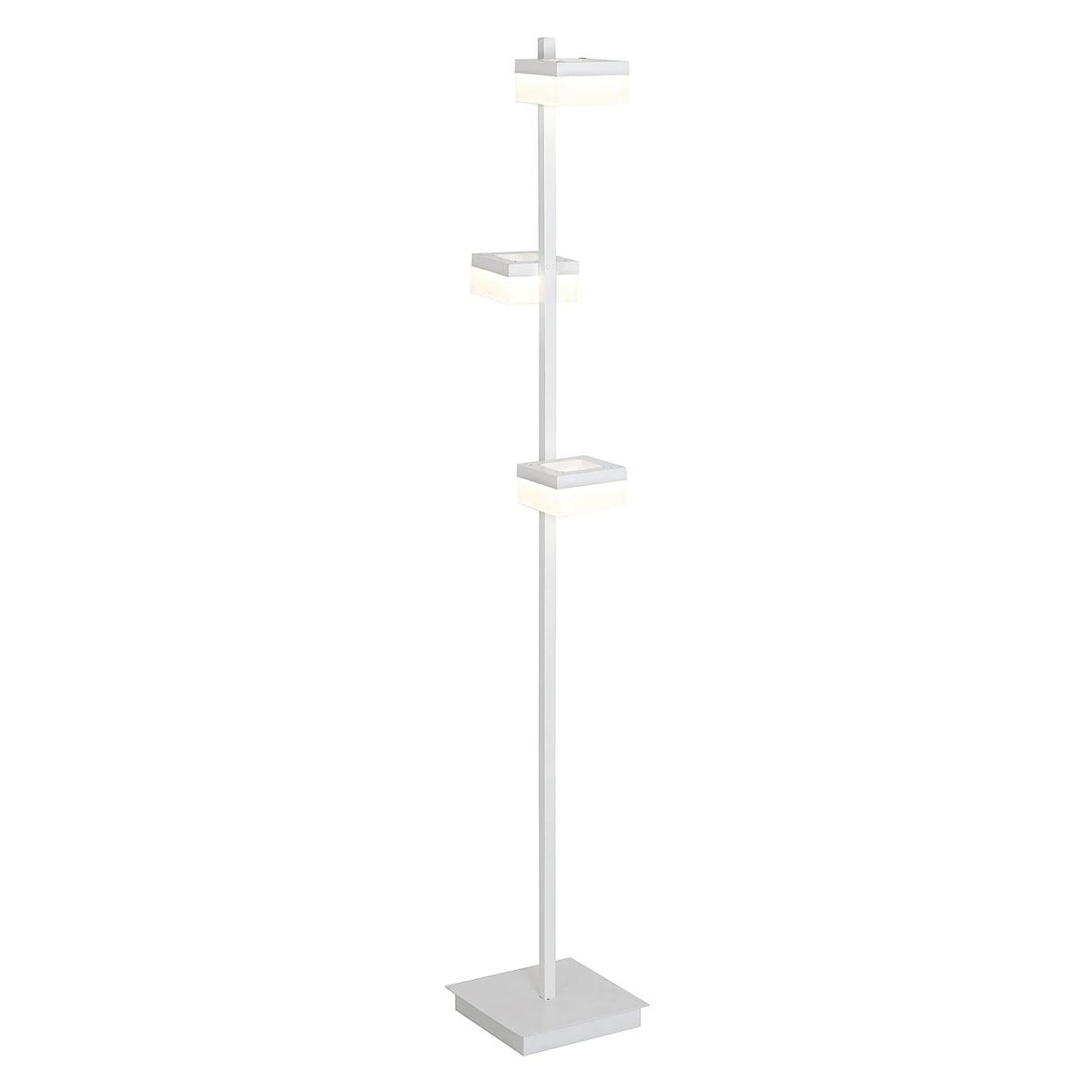 Lampa podłogowa Milagro CUBO 160 Piaskowy biały 36W