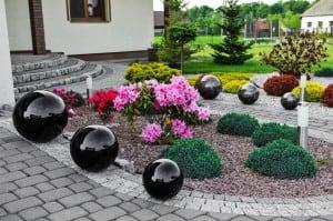 Kula Dekoracyjna do Ogrodu Wybór Kolorów 22 cm small 1