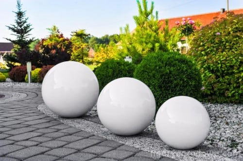 Kula dekoracyjna do ogrodu wybor kolorow 22 cm l
