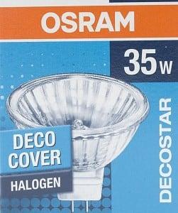 Żarówka Halogenowa OSRAM Decostar 12V GU5,3  35W DECO COVER small 1