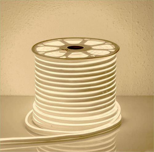 Biały Neon Flex Led Ciepły 50m IP65