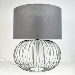 Lampa BIG BALL GRAY NR 2494