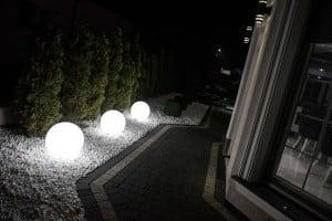 Kula świecąca elektryczna - Flexi Ball Electric 30 cm z kablem i żarówką small 4