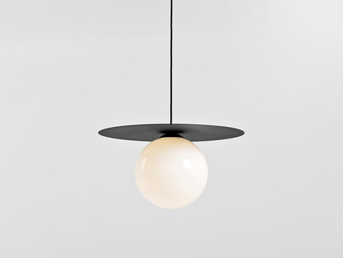 Lampa wisząca SKIVA BALL L - czarny