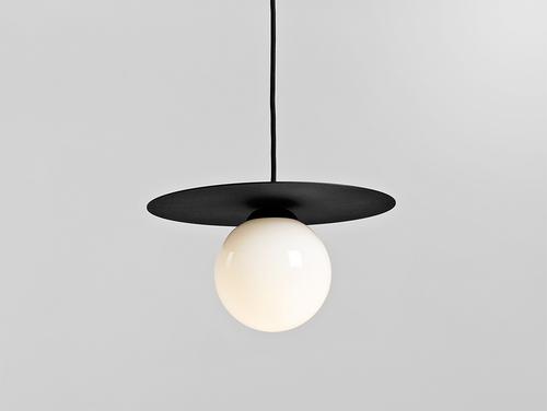 Lampa wisząca SKIVA BALL S - czarny