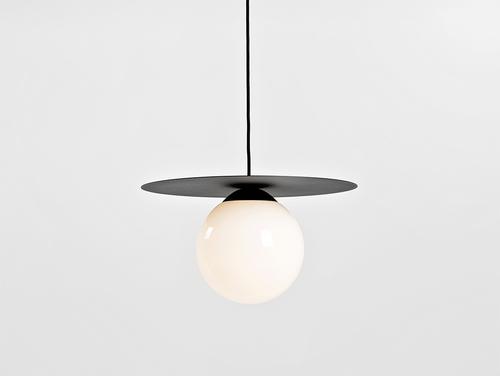 Lampa wisząca SKIVA BALL M - czarny