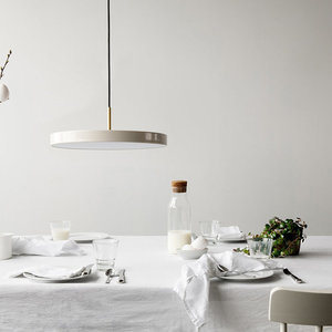 Lampa wisząca UMAGE Asteria biała perła Ø 43 small 0