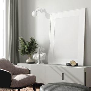 Kinkiet Auris White 1x E14 small 1