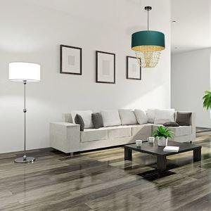 Lampa Wisząca Almeria Green/Gold 1x E27 small 4