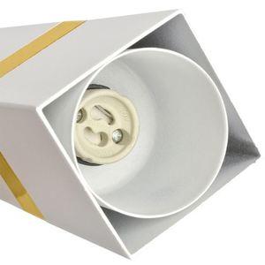 Lampa Wisząca Vidar White/Gold 3x Gu10 small 2