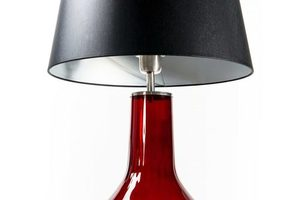 Lampa handmade Famlight Alor Transparent czarny / srebrny E27 60W przezroczysta butelka small 1