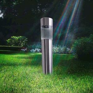 Lampka Ogrodowa Solarna Inox+Plastik small 3