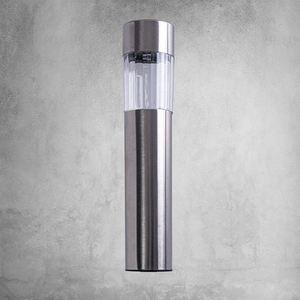 Lampka Ogrodowa Solarna Inox+Plastik small 4