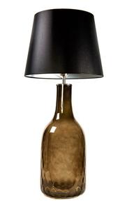 Lampa butelka Famlight Alor Grey czarny / srebrny E27 60W handmade small 0