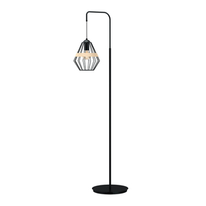 Lampa Stojąca Cliff Black 1x E27 small 0
