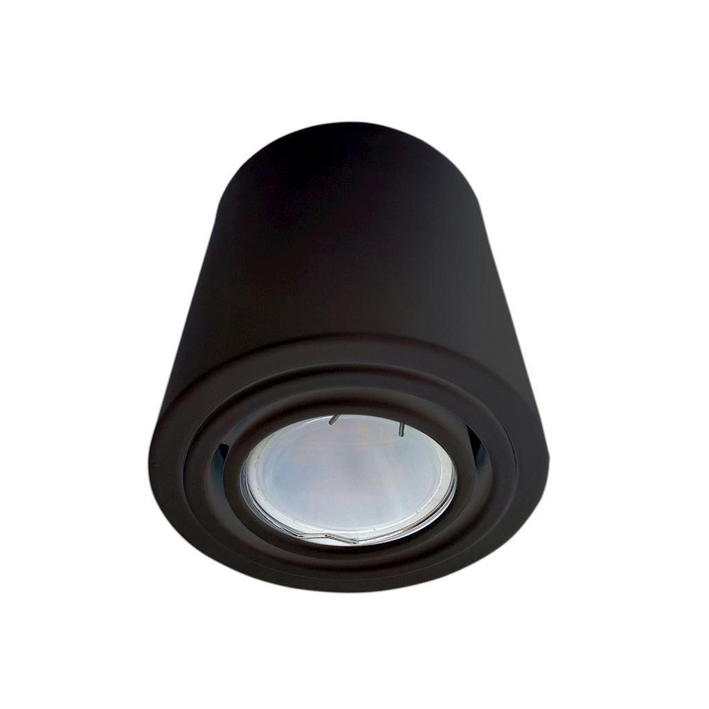 Lampa Sufitowa Tubo Black 1 X7 W Led Gu10