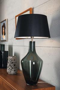 Lampa na komodę Ceylon S Grey Famlight E27 60W produkcja ręczna small 3