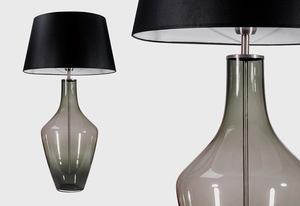 Lampa na komodę Ceylon S Grey Famlight E27 60W produkcja ręczna small 1