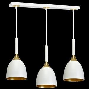 Lampa Wisząca Clark White/Gold 3x E27 small 8