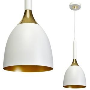 Lampa Wisząca Clark Black/Gold 1x E27 small 0