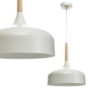Lampa Wisząca Taylor White 1x E27 60 W small 0