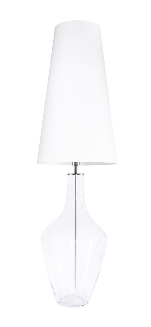 Duża lampa stołowa Ceylon L Transparent Famlight E27 60W