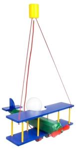 Lampka wisząca dla dziecka duży Samolot 104.11.08 small 0