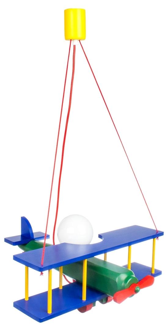 Lampka wisząca dla dziecka duży Samolot 104.11.08