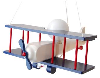 Dziecięca lampka wisząca Samolot duży 104.11.28