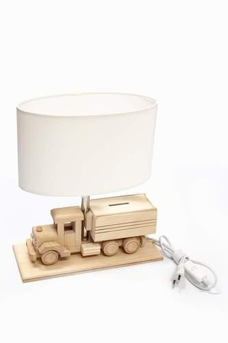 Stołowa lampka dzięcięca Ciężarówka - Skarbonka 411.24.09