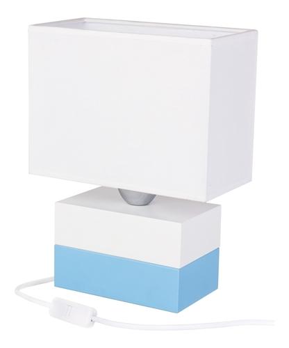Dwukolorowa lampka stołowa kostka Colorato 411.35.29