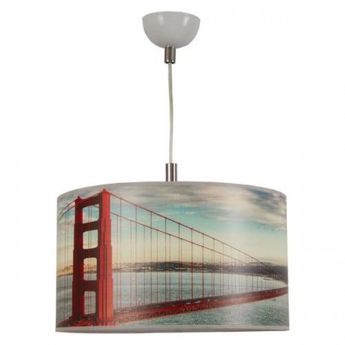Lampa wisząca 1-pł. ARCHITECTURE Bridge Jasna