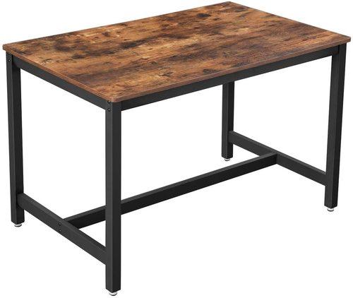 Industrialny stół do jadalni Alinru KDT75X VASAGLE