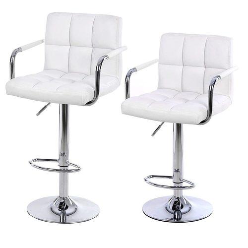 Zestaw 2 krzeseł barowych  LJB93W