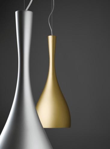 Lampa wisząca Vibia Jazz 1336 złoty kolor