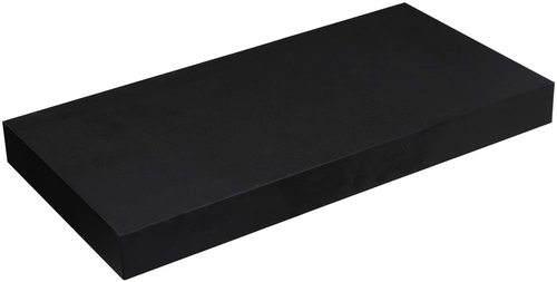 Stylowa czarna półka ścienna LWS24BX