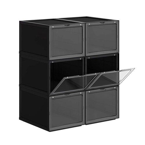 Zestaw 6 pudełek na obuwie LSP06BK