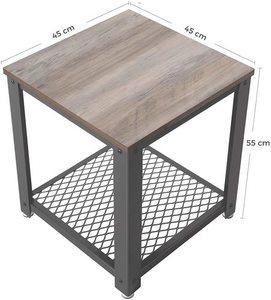 Stolik kawowy w stylu loft LET41MG VASAGLE small 3