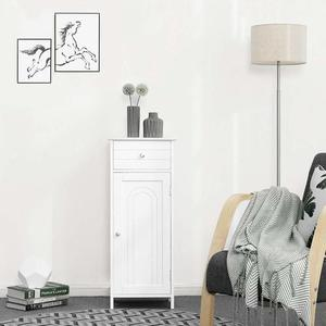 Szafeczka biała z szufladą do łazienki do przedpokoju BBC48WT small 1
