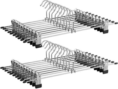 Zestaw 20 Wieszaków metalowych CRI006-20