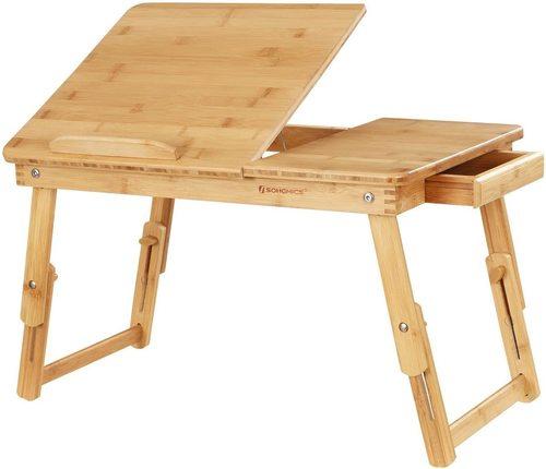 Wielofunkcyjny rozkładany stolik pod laptopa LLD01N Songmics