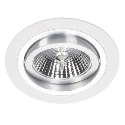 Biały Downlight Alcazar z Chromem 140.WC