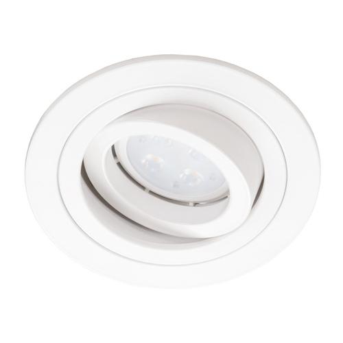 Biały Okrągły Downlight Alcazar 540.WW